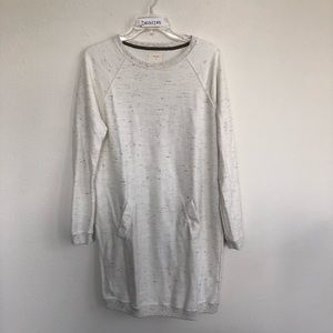 Billy Reid Speckled Pocket sweater dress medium